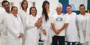 Alunos de Fisioterapia recebem comunidade no Centro de Reabilitação Dr. Bernard Brucker