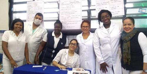 Alunos de Enfermagem promovem ação social com atividades de Educação e Saúde no Externato São Judas