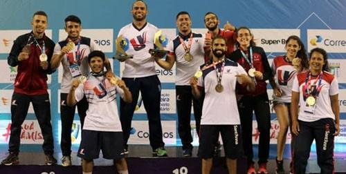 UniSant'Anna garante classificação para Campeonato Mundial na Luta Olímpica