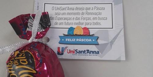 UniSant'Anna promove Ação de Páscoa para professores e colaboradores