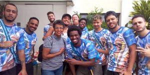 Bateria do UniSant'Anna está a todo vapor e fecha parceria com o Bloco Cacique Social Samba