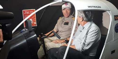 Comandante Hamilton fala sobre o acidente do jornalista Boechat à Rede Record no UniSant'Anna