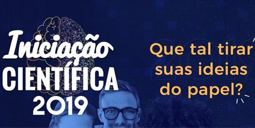 Inscrições abertas para o PIBIC 2019