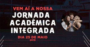 UniSant'Anna promove segunda edição da  'Jornada Acadêmica Integrada'