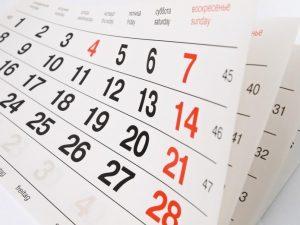 Confira Calendário de Verificações Substitutivas