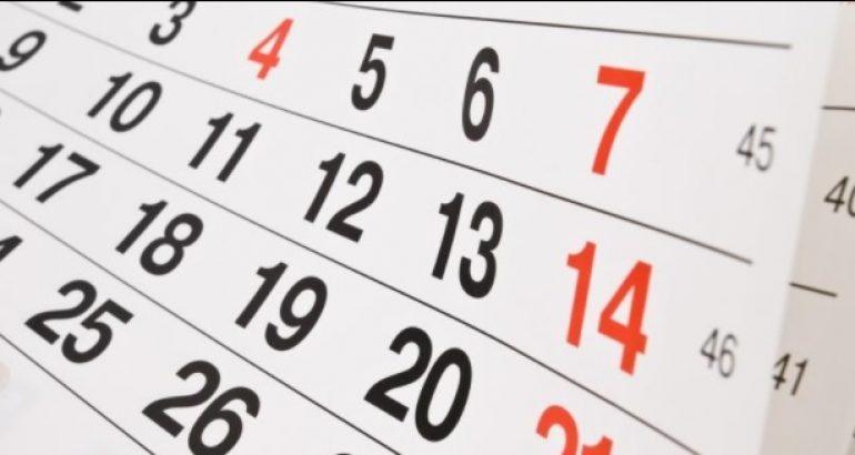 Confira Calendário de Verificações Finais