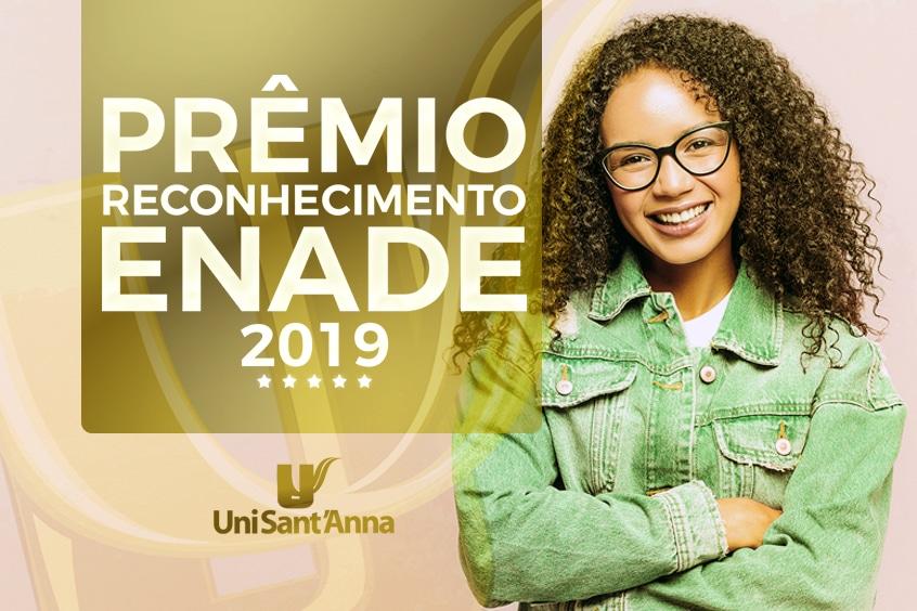 Prêmio Reconhecimento ENADE 2019
