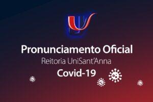 Pronunciamento da Reitoria: Regime Emergencial de Ensino – COVID-19