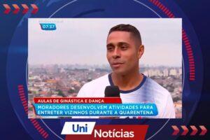 Aluno de Educação Física faz a diferença para a Comunidade da Brasilândia e vira destaque na imprensa nacional