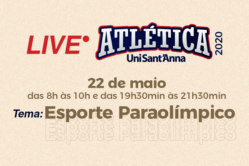Live Atlética: Esporte Paralímpico