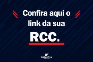 RCC: 27 de maio, confira aqui os links para a realização da avaliação