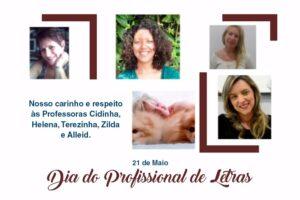 21 de Maio: Dia do Profissional de Letras