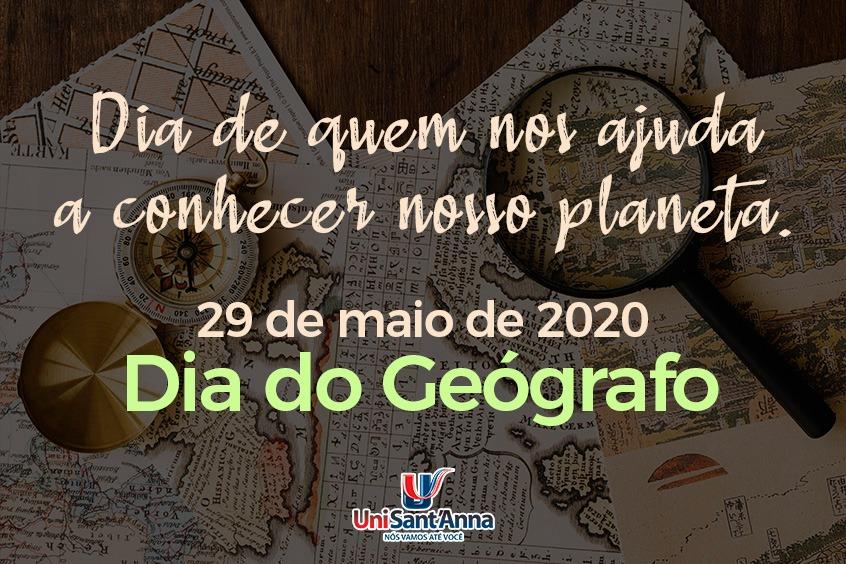 29 de Maio: Dia do Geógrafo