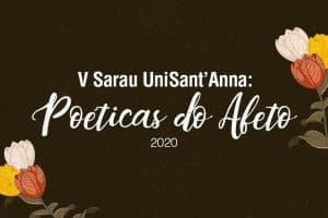 Inscrições abertas para o V Sarau: Poéticas do Afeto