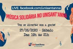 5ª e Última Edição: Música Solidária no UniSant'Anna
