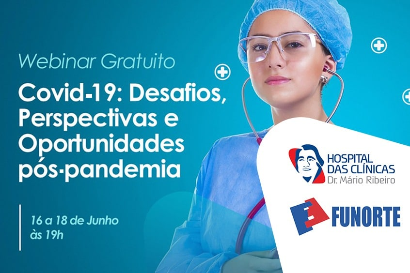 Webinar Funorte: Desafios, perspectivas e oportunidades Pós-pandemia