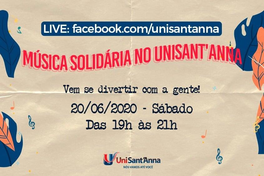 4ª Edição: Música Solidária no UniSant'Anna