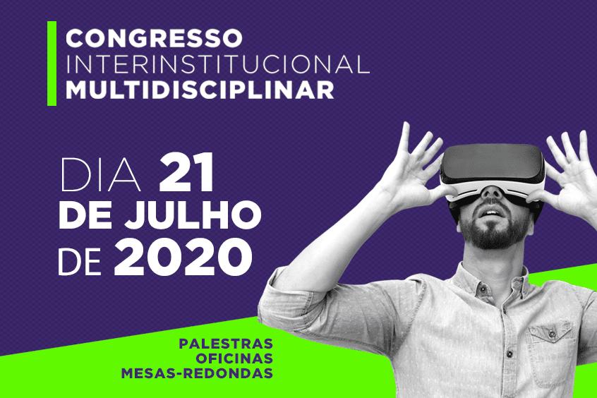 Confira a programação do 8º dia do Congresso Multidisciplinar sobre o Novo Normal