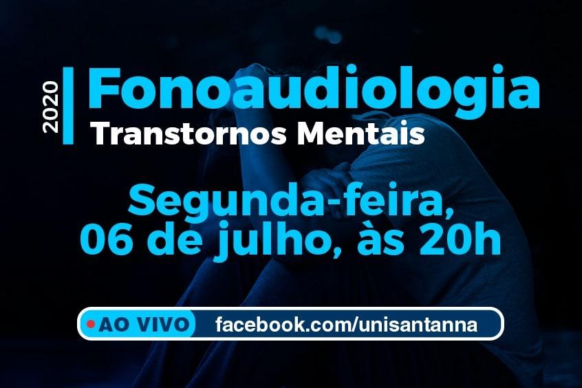 Fonoaudiologia promove evento sobre Transtornos Mentais