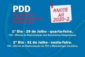 UniSant'Anna promove PDD – Programa de Desenvolvimento para Docentes 2020-2
