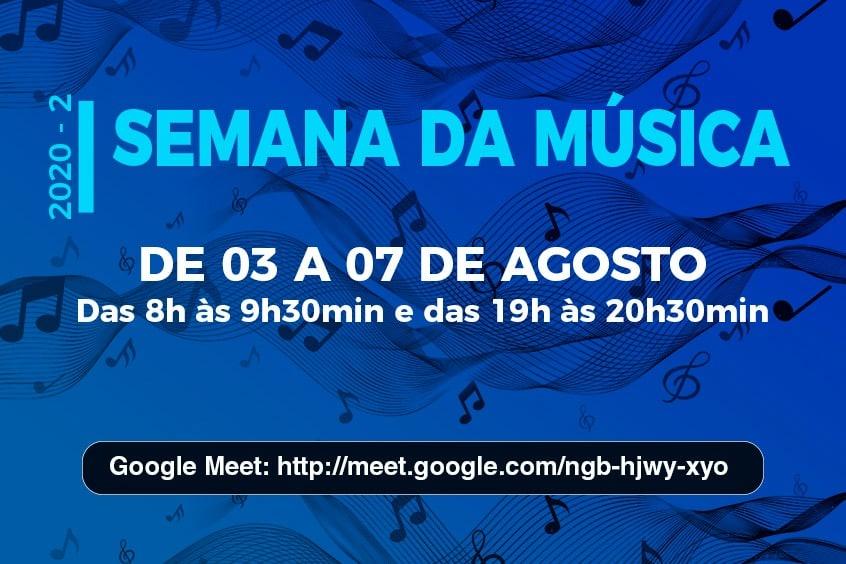 Semana de Música começa no UniSant'Anna, nessa segunda-feira, 03 de agosto