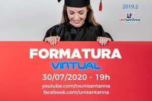 UniSant'Anna realizará Formatura Virtual