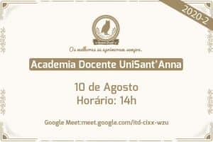 Academia Docente UniSant'Anna promove 2ª Oficina para Padronização do Classroom 2020-2