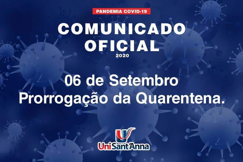 Governo Estadual de São Paulo prorroga quarentena até 06 de setembro