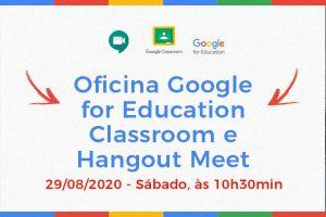 NINA e NOP promovem oficina sobre classroom e hangout meet para alunos