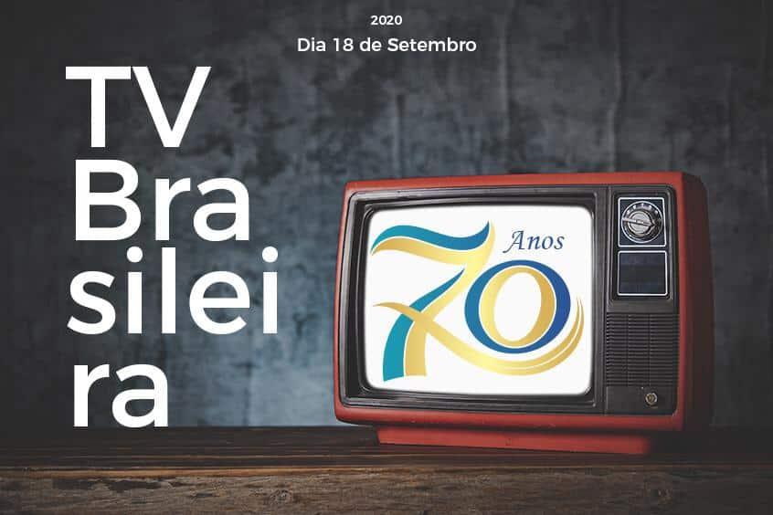 TV brasileira completa 70 anos