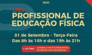 Live discute importância e atuação do CONFEF/CREFS junto aos Profissionais de Educação Física