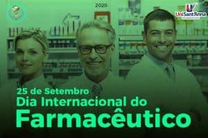 25 de setembro: Dia Internacional do Farmacêutico