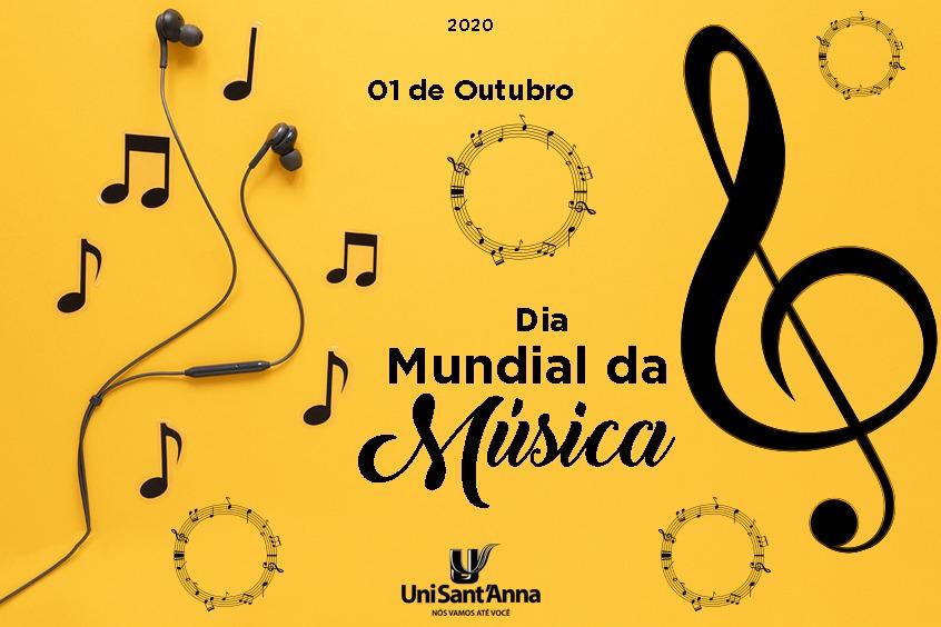 01 de Outubro: Dia Mundial da Música