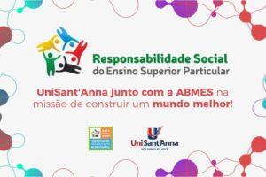 UniSant'Anna ganha renovação do Selo Instituição Socialmente Responsável da ABMES