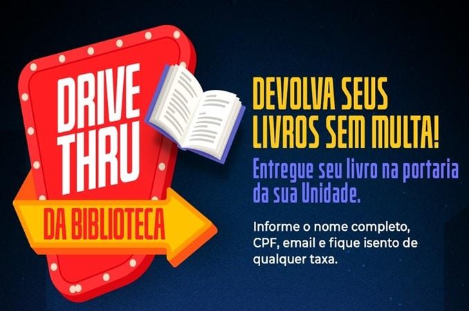 Drive Thru da Biblioteca