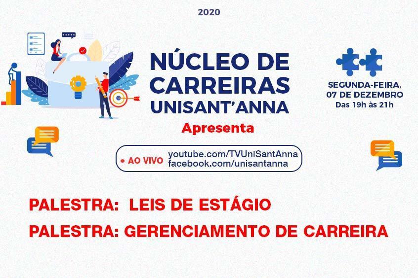 Núcleo de Carreiras e NUBE promovem evento sobre gestão de carreiras e