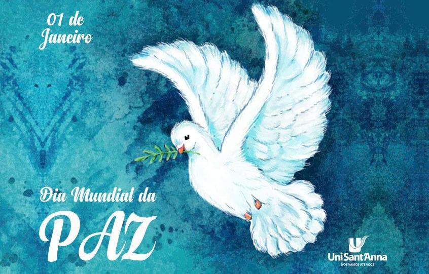 01 de Janeiro: Dia Mundial da Paz