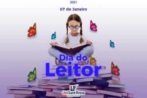 07 de janeiro: Dia do Leitor