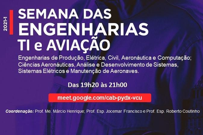 UniSant'Anna promove Semana das Engenharias, TI e Aviação para a recepção de veteranos