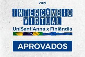 Saiu a lista de Aprovados do Intercâmbio Virtual do curso de Música do UniSant'Anna x Finlândia
