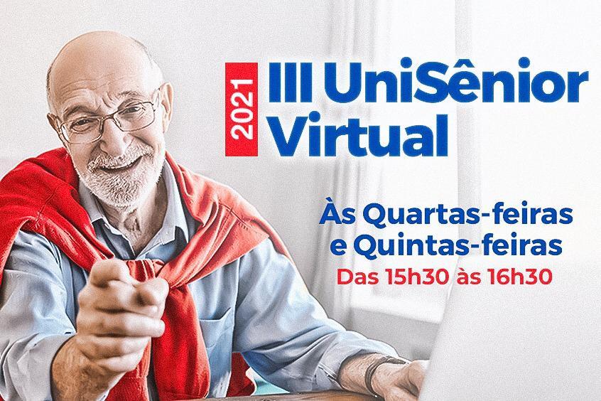 UniSênior promove Terceira Edição de Curso Virtual para afastar a solidão e manter o cérebro ativo
