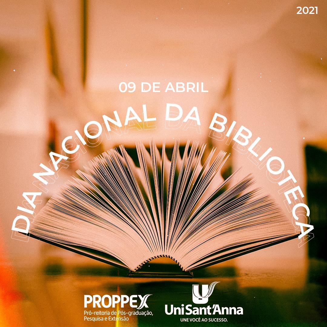 09 de Abril: Dia Nacional da Biblioteca