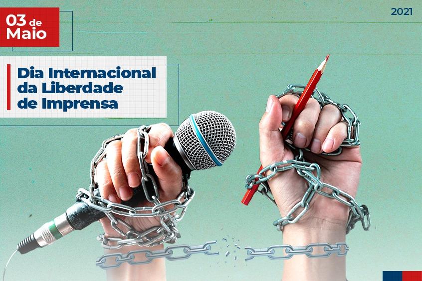 03 de Maio: Dia Internacional da Liberdade de Imprensa