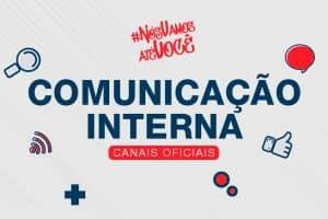 Fique de olho nos canais oficiais de Comunicação do UniSant'Anna