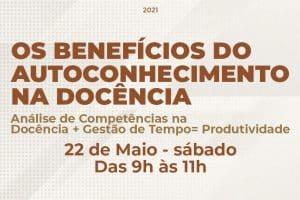Academia Docente promove evento sobre Autoconhecimento, Gestão do Tempo e Produtividade
