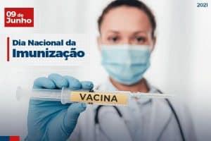 09 de Junho: Dia Nacional da Imunização