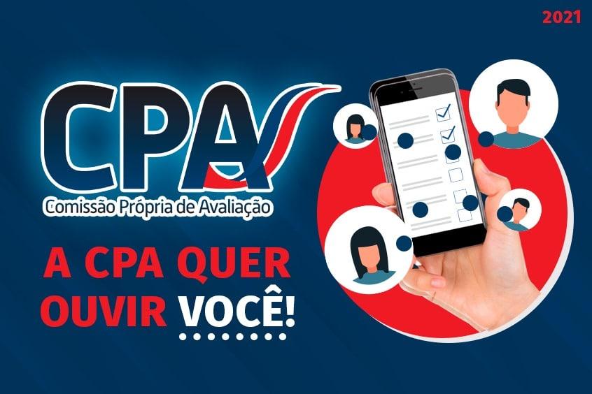 A CPA quer ouvir você
