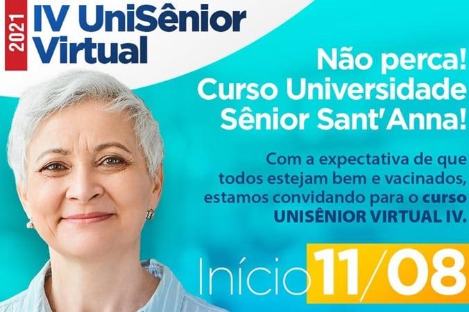 UniSênior promove IV Edição de Curso Virtual para afastar a solidão e manter o cérebro ativo