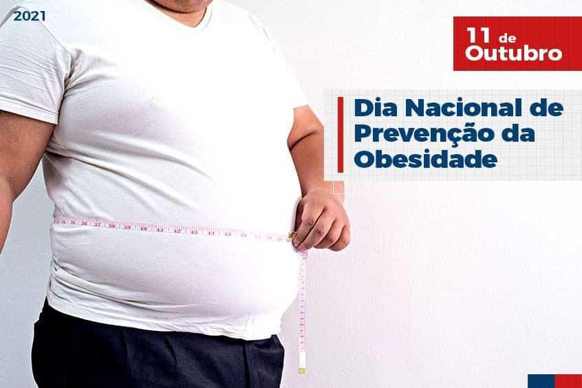 11 de Outubro: Dia Nacional de Prevenção da Obesidade