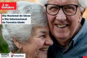 01 de Outubro: Dia Nacional do Idoso e o Dia Internacional da Terceira Idade